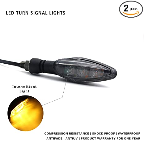 Amazon.com: Luz de señal de giro LED de alta calidad para ...