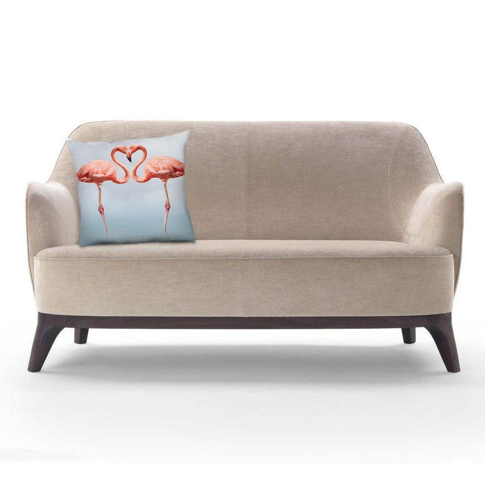 Popeven Love Flamingos - Funda de cojín para Silla de ...