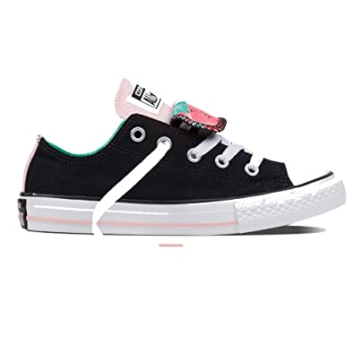 de736892e54 Image Unavailable. Image not available for. Color  Converse Kids Chuck  Taylor All Star Double Tongue Ox ...