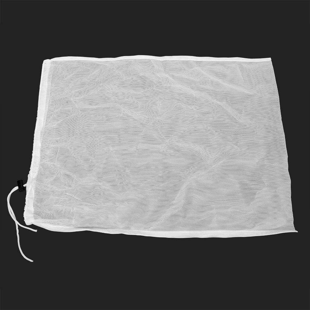 sacs ronds de collection de d/écapant de feuille de t/ête daspirateur de piscine avec la poulie pour le nettoyage de piscine T/ête de vide daspiration de piscine