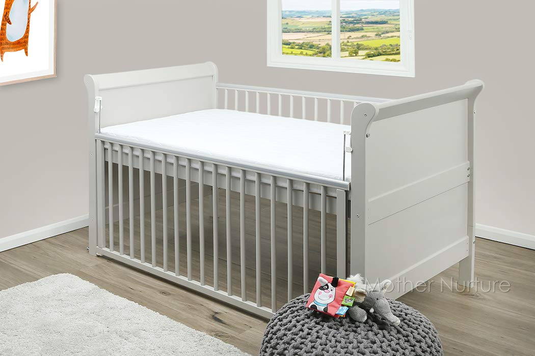 COT MATTRESS Breathable Thick 120 X 60 X 7.5CM Nursery Furniture Made In The UK