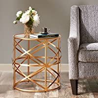 Nora End Table Gold See below