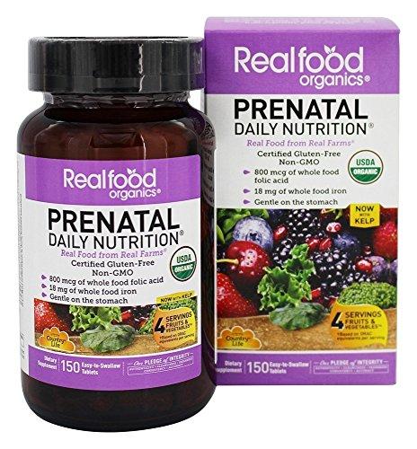 Country Life Realfood Organics Prenatal vitamin