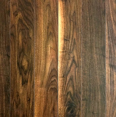 Hardwood Black Walnut Flooring (Balterio Walnut Black 8mm Thick Premium European Laminate Flooring Made in Belgium (21.86 sq. ft./case))