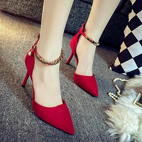 SHOESHAOGE Avec UK3 Pour Bien Des Femme 106 Sandales Fendue Chaussures De Femme EU36 Très Chaussures Talon L'Embout De L'Éclairage 5 Femmes qrvIwxrU