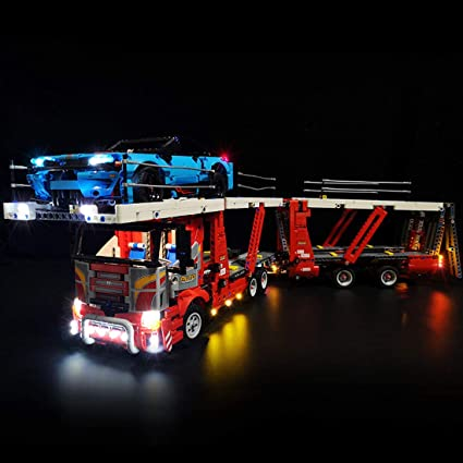 Led Light Kit Only For Lego Set Bricks Toy Kids Collection Set Truck Free Shipp