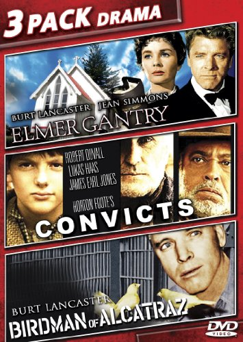 Elmer Gantry/Convicts/Birdman Of Alcatraz (Alcatraz Dvd Of Birdman)