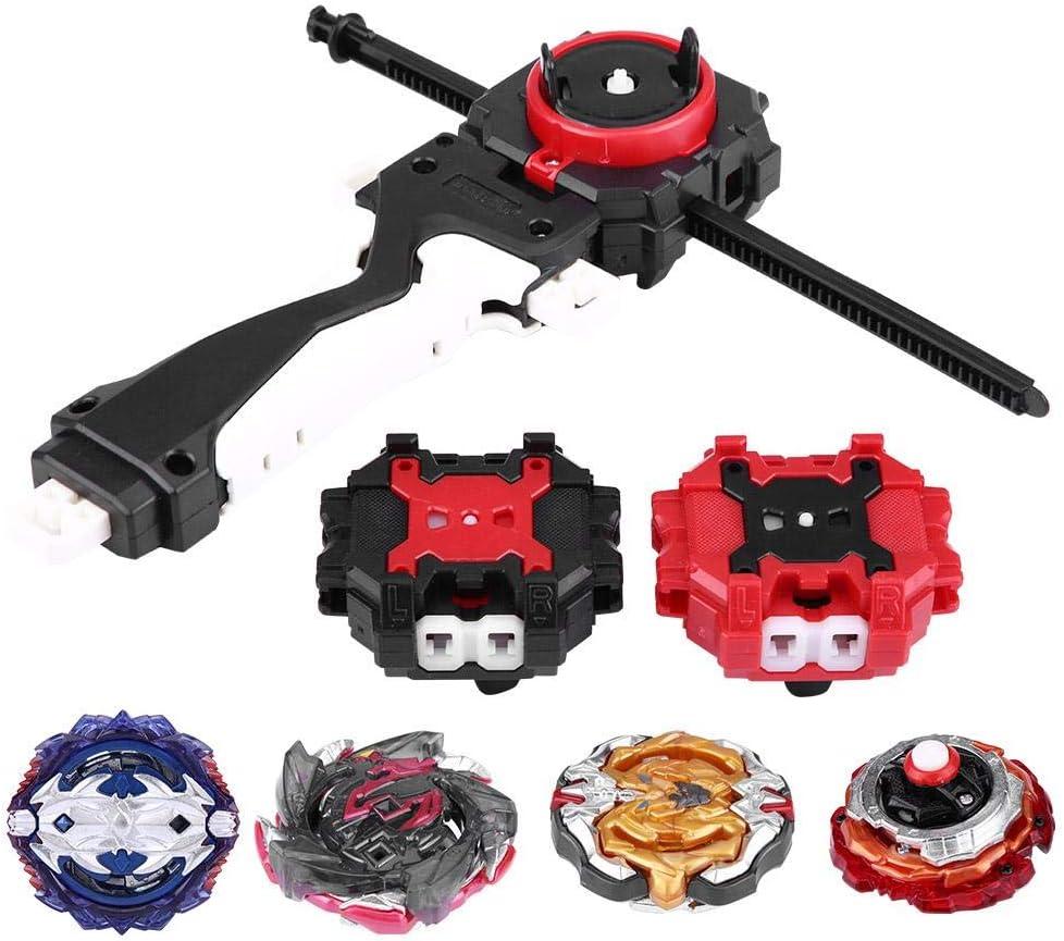 Spinning Gyro Toy, 4 en 1 Burst Set Toys Spinning Top Dreidel Toy ...