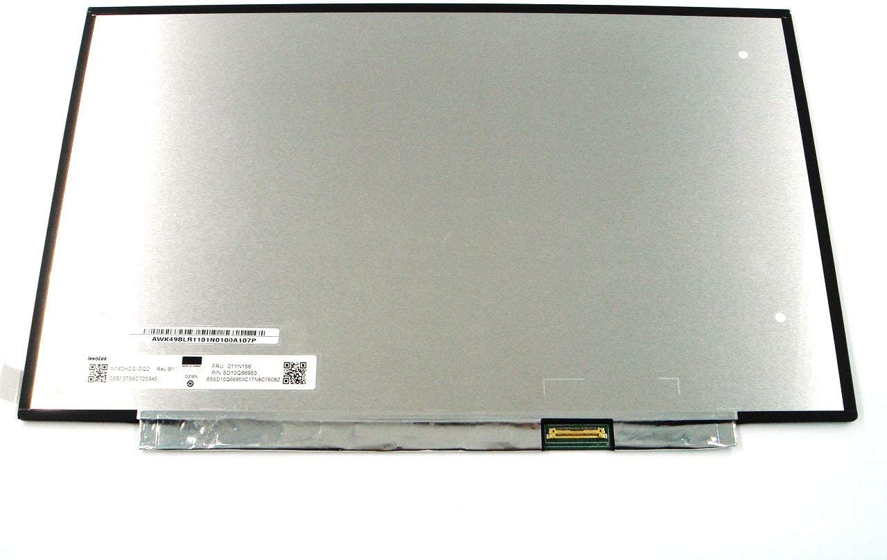 Genuine/&New Replacement Parts for Lenovo ThinkPad T490 T495 P43s 14.0 FHD 1920x1080 LCD Screen Touch Non-Touch 01YN156 N140HCG-GQ2