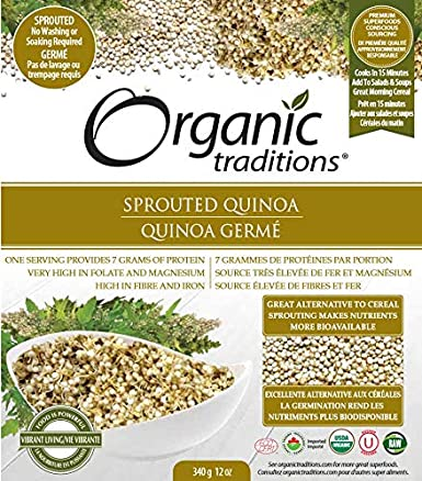 brotado Royal Blanco La Quinoa Organic Traditions 12 oz ...