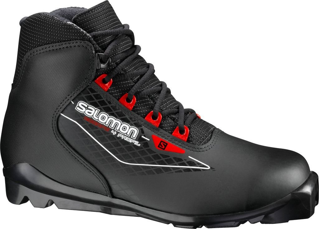 Salomon Escape 4 Langlaufschuh (Schuhgröße: 44.0 = UK 9.5, Farbe: schwarz)