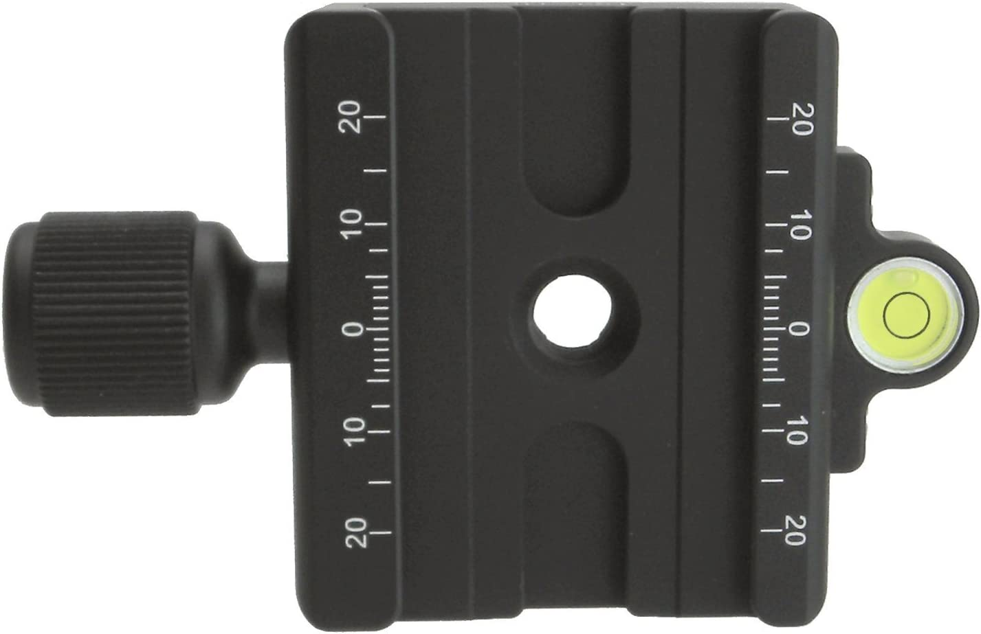 "Desmond DAC-60 60mm QR Clamp 3/8"" w 1/4"" Adapter & Level Arca-Swiss Compatible for Tripod Head Quick Release : Camera & Photo"