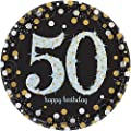 Sparkling Celebration 50 Paper Dinner Plates