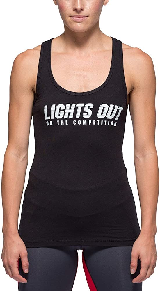 Black Lights Out Performance Tank