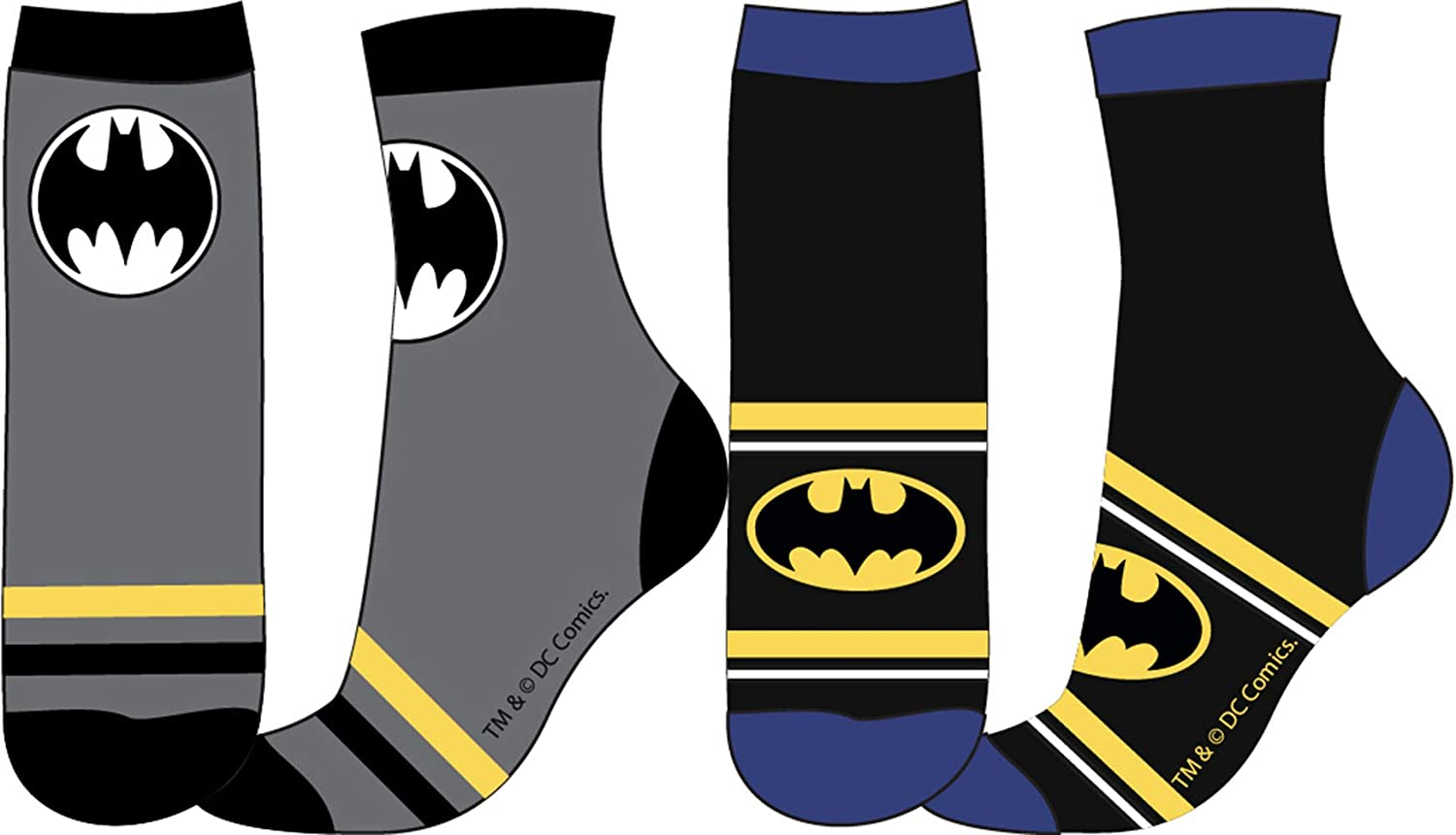 BATMAN SOCKS - PACK OF 2