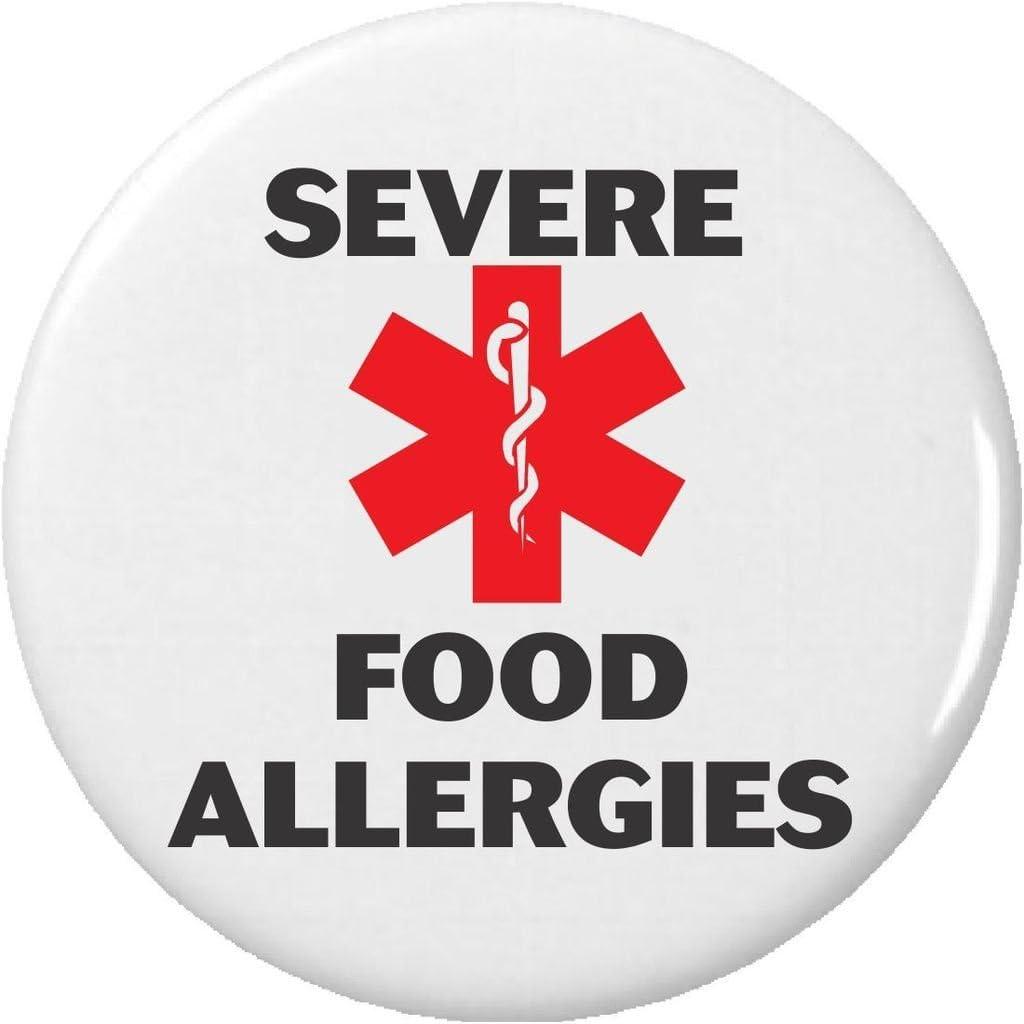 Severe Food Allergies – Medical Alert Symbol 2.25