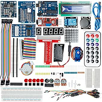 uxcell UNO R3 Board Project Super Starter Kit For Arduino DIY Development Learning kits