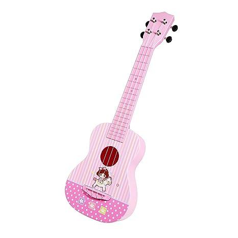 JINRUCHE Guitarra Ukelele, 23 Pulgadas de Arranque de Nylon de Cuerdas de Guitarra clásica para