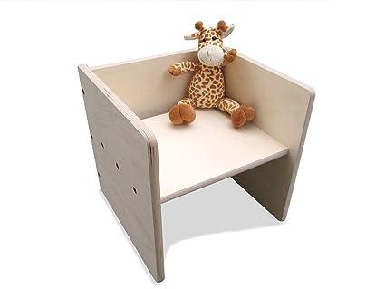 Set di sgabelli per bambini maxi 2mount: amazon.it: prima infanzia