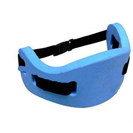 Ubey el entrenamiento de natación parte trasera flotante natación cinturón flotador para nadar, Azul