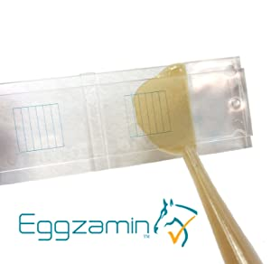 McMaster Method Microscope Slide by Eggzamin. Fecal/Worm Egg Count for Parasites for Veterinary Use. Parasite Management for Horse Sheep Cattle. is Your Dewormer Working? FECRT Reference Guide Incl.