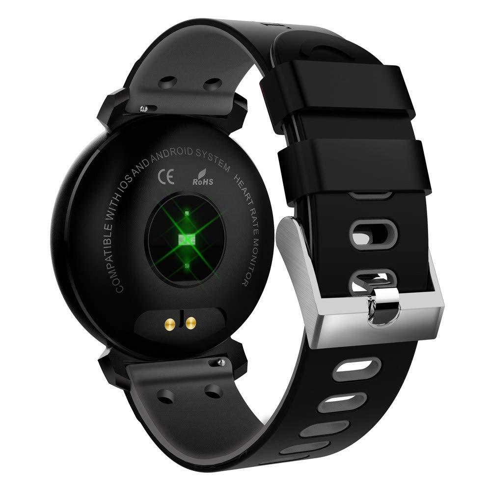 Amazon.com: Star_wuvi Color Screen Heart Rate Blood Pressure ...