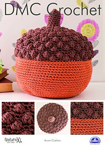 Buy Dmc Acorn Cushion Crochet Pattern Online At Low Prices In India