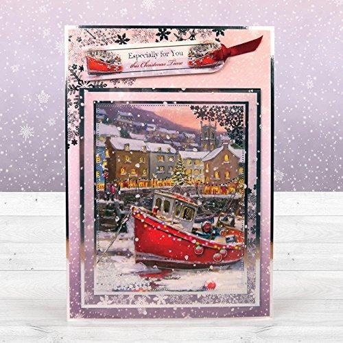 HunkyDory Crafts Snowfall Foiled Acetate 32 A4 Sheets