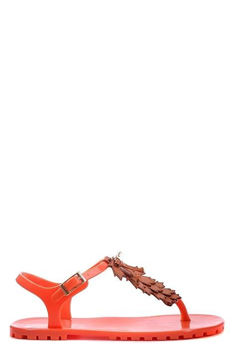 Dsquared2 Dsquared mujer zapatillas sandalias chanclas en goma nuevo naranjane EU 40 S12P503V172: Amazon.es: Zapatos y complementos