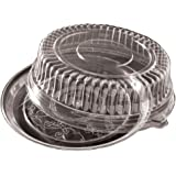 EMI Yoshi EMI-320LP Koyal Dome Lids, 12-Inch, Clear, Set of 25