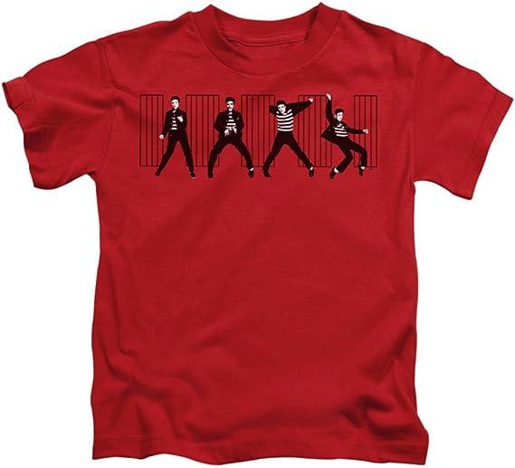 Elvis Jailhouse Rock Juvy - Camiseta de Manga Corta, Color Rojo - Rojo - Medium: Amazon.es: Ropa y accesorios