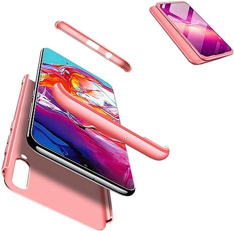JJWYD Funda para Samsung Galaxy A70 + Gratis Cristal Templado ...