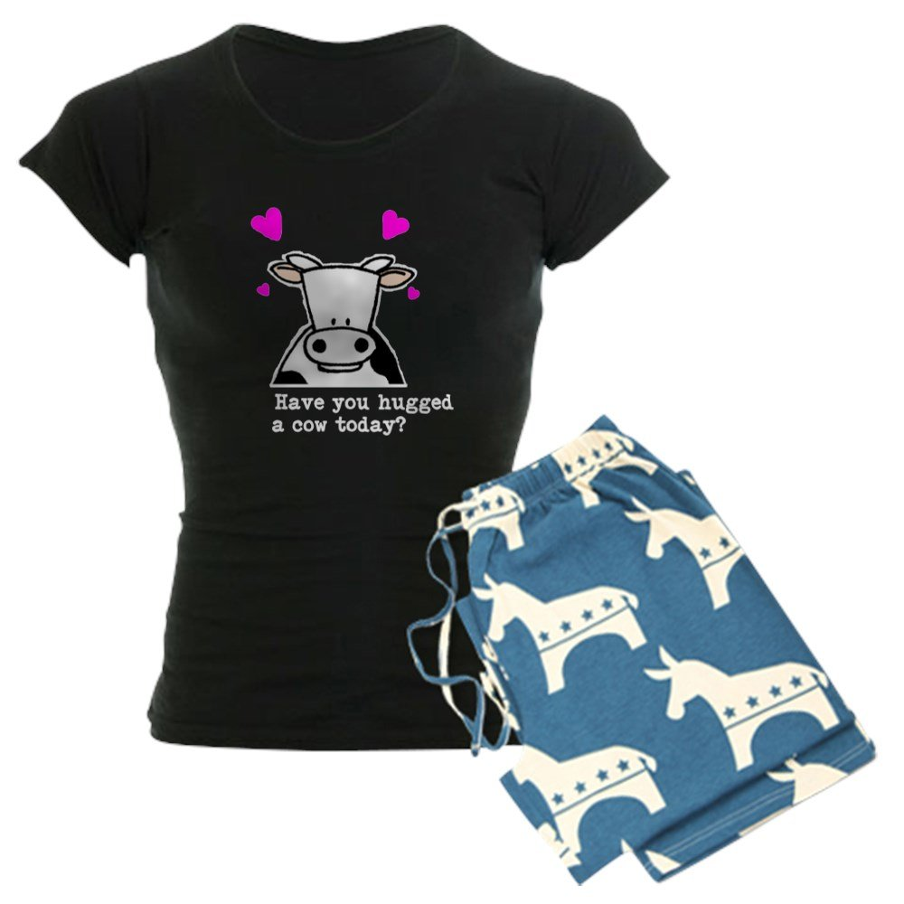 Womens Pajama Set CafePress Hug A Cow