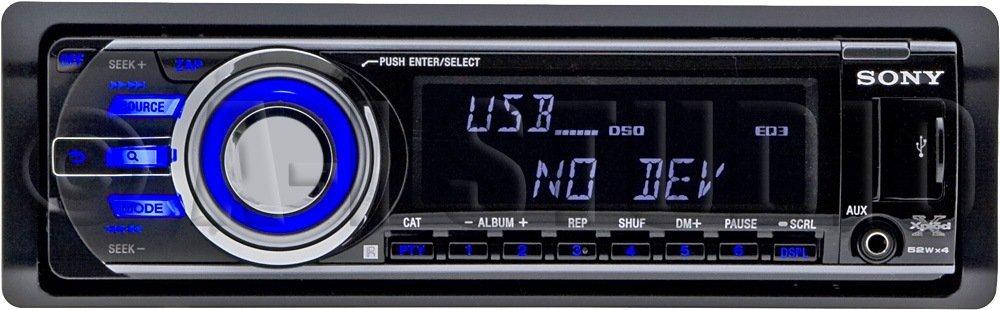 Amazon.com: Sony CDXGT640UI MP3/WMA/AAC Player CD Receiver (Black ...