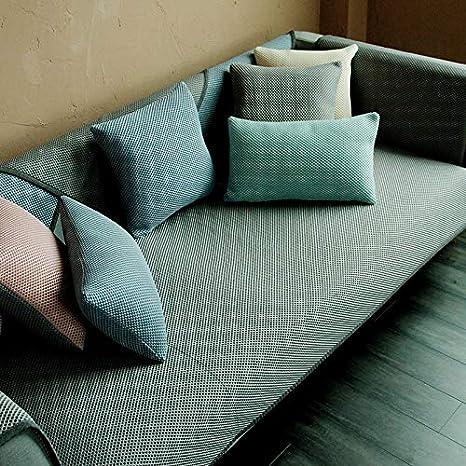 XINxinrongA Funda de sofá Impresa en Color Liso Funda ...