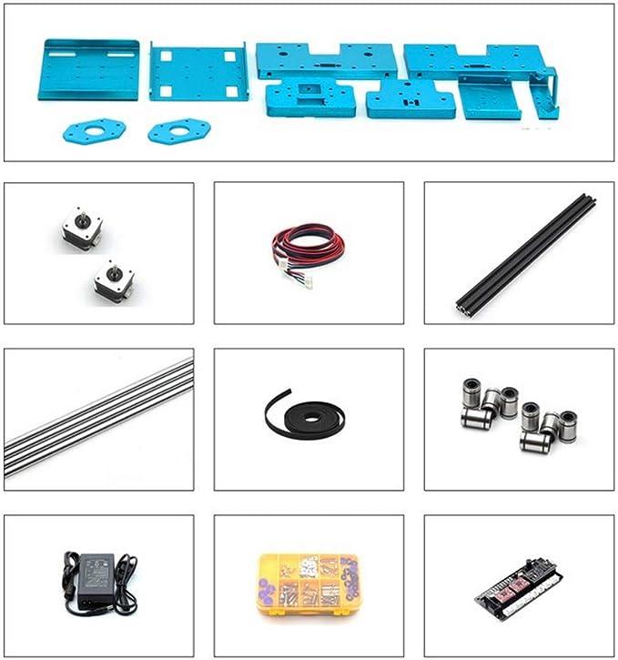 Plotter Writer Robot | Kit de robot escrito a mano Dibujo automático Máquina de escribir Plotter X Y Eje Máquina de firma A: Amazon.es: Oficina y papelería