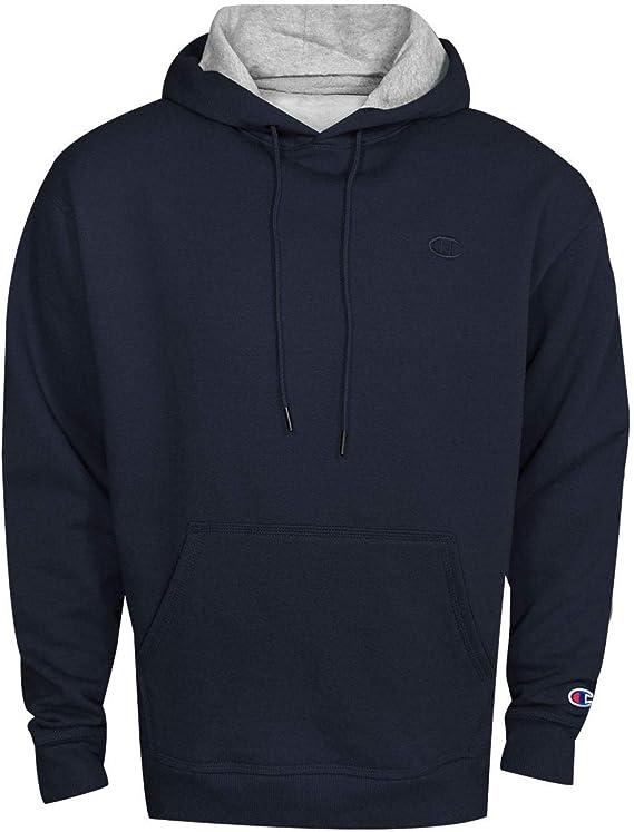 blue pocket hoodie