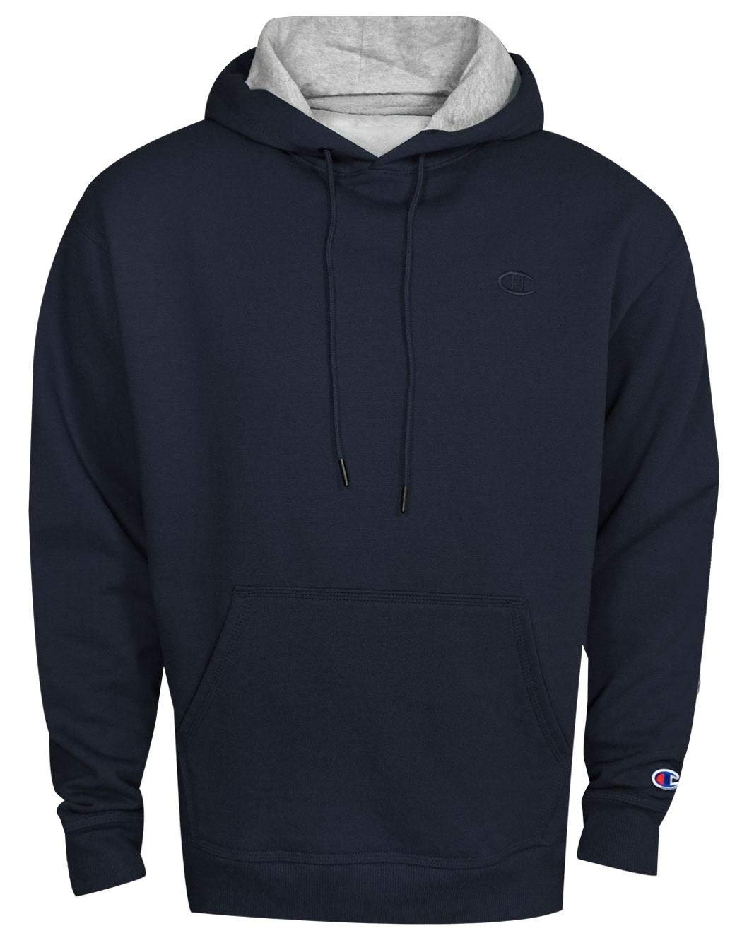 Champion Men's Powerblend Pullover Hoodie, Navy, Small by Champion