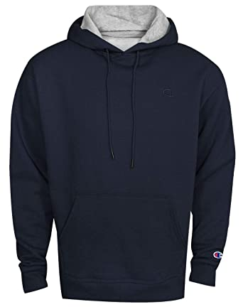 7e506304 Amazon.com: Champion Men's Powerblend Fleece Pullover Hoodie: Clothing