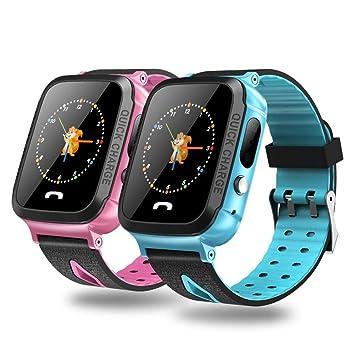 Amazon.com: Shantan Kids Smart Watch Phone GPS Tracker Wrist ...