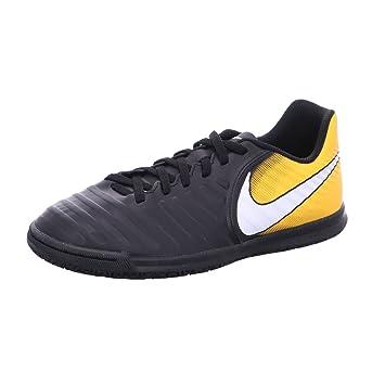 Nike JR TIEMPOX RIO IV IC - Zapatillas de fútbol sala, Unisex infantil, Negro - (Black/White-Laser Orange-Volt): Amazon.es: Deportes y aire libre