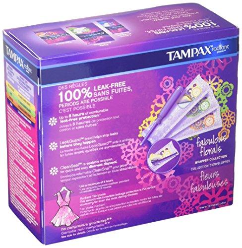 Tampax radiant plastic triplepack regular super super for Radiant plexiglass
