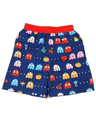 Amazon.com: Pac-Man - Pantalones cortos para niño (azul y ...