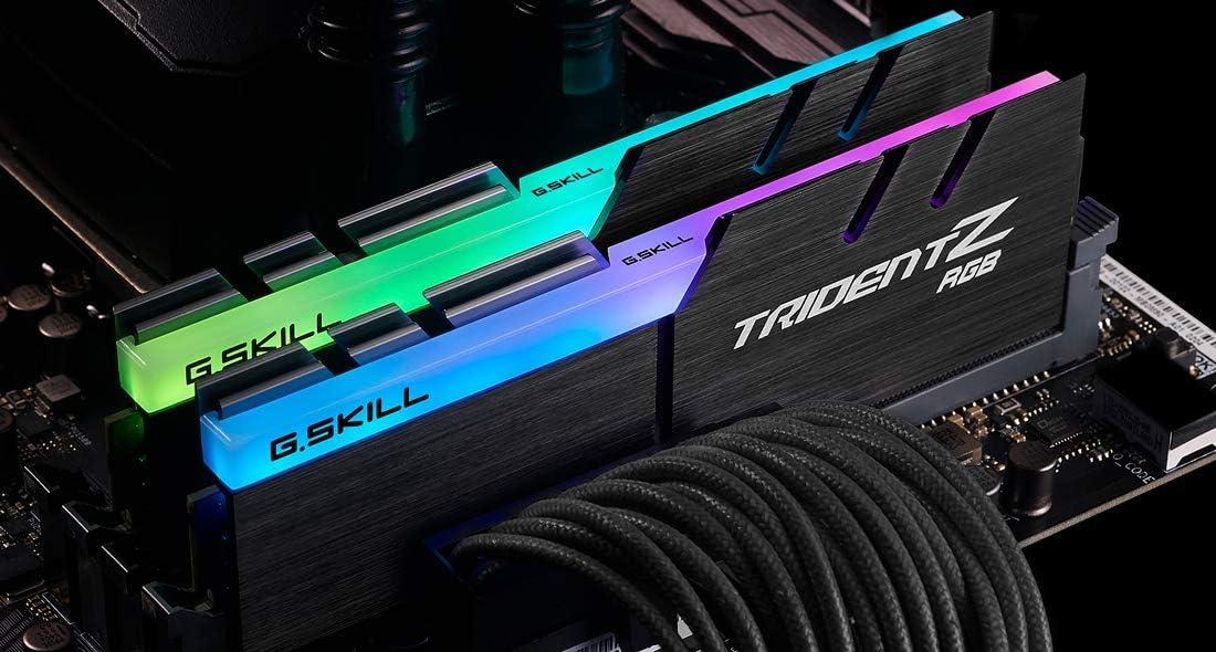 G.SKILL TridentZ RGB Series 32GB (2 x 16GB) DDR4 3200Mhz DIMM CAS 16 F4-3200C16D-32GTZR