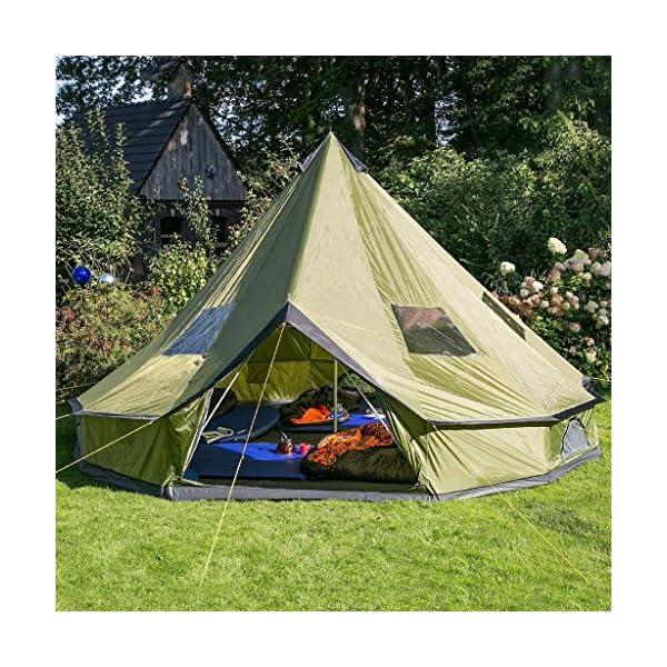 A ...  sc 1 st  Parkcation & Hasika waterproof lightweight 18x18u0027 HUGE Teepee Tents for Sale ...
