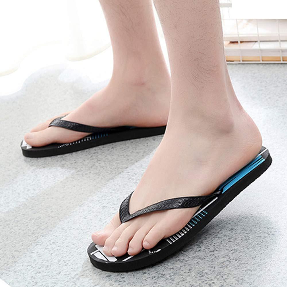 LIN Liquidation Tongs Hommes Mode Casual Anti Dérapage Chaussons Shoes  Flats Massage de Plage Dintérieur ...