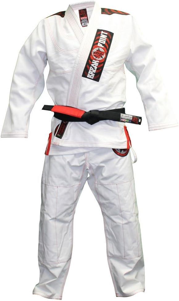Break Point Flash2.0 柔術着 白 ホワイト ブラジリアン柔術衣 グレイシー柔術 ブレイクポイント  A1