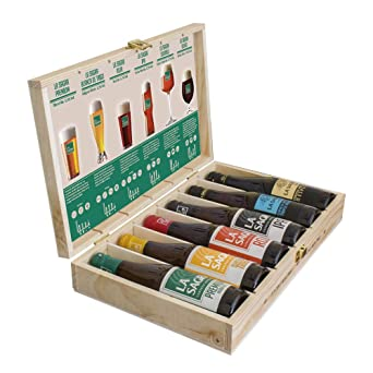 Estuche Degustación 6 estilos Cerveza LA SAGRA - 6 botellas de 330 ml - Total: 1980 ml