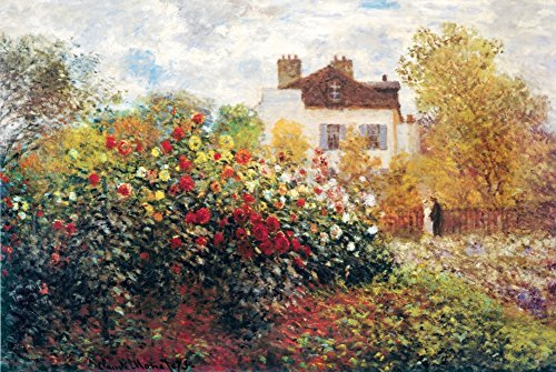 (Buyartforless The Artist's Garden by Claude Monet 36x24 Art Print Poster)