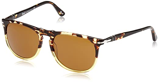 Persol 3113S 102433 Ebano e Oro E 3113S Aviator Sunglasses Lens Category 3